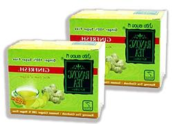 Ranong Tea Gin Fresh Ginger Powder No Sugar 70 G. Contain 14