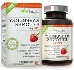NatureWise Raspberry Ketones Plus+ Advanced Antioxidant Blen