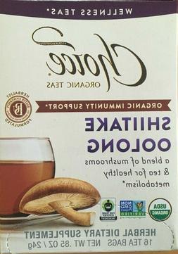 Choice Organic Teas Herbal Tea 16 Bags,Green Tea, Jasmine Te
