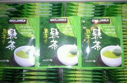 Kirkland Signature's Japanese Green Tea Bags Sencha Matcha 5