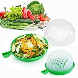 Salad Cutter Bowl, Lettuce cutter, Lettuce bowl, Vegetable C