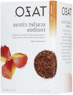 Tazo Scarlet Citrus Rooibos Tea, 20 ct