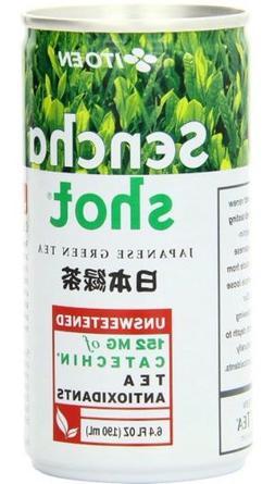 Ito En Sencha Shot, Japanese Green Tea 6.4 oz Pack of 10 Uns