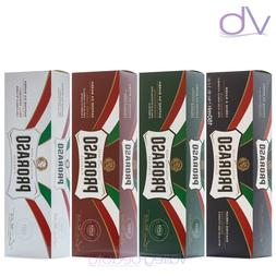 PRORASO Shaving Cream - Eucalyptus Oil, Aloe, Vitamin E, San