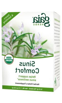 Sinus Comfort Gaia Herbs 16 ct Bag