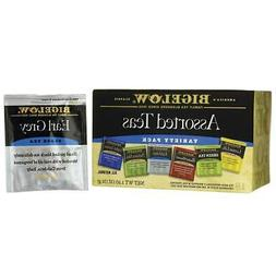 Bigelow Six Assorted Teas, Variety Pack 18 ea