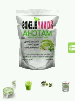 SKINNY BLENDS Skinny GREEN TEA DETOX, FAT BURNER, SUPERFOOD,