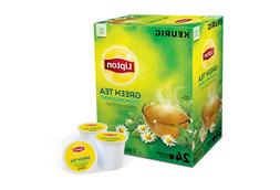 Lipton, Green Tea, Chamomile Mint, Keurig K-Cups, 24-Count