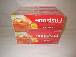 Luzianne Family Size Flow Tea Bags for Ice Tea, 6.0 OZ