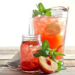 Strawberry Peach Flavored Gourmet Tea Loose Leaf Black Blend