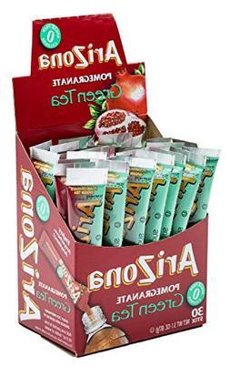 ARIZONA POMEGRANATE GREEN TEA ICED TEA STIX SUGAR FREE 2 Box