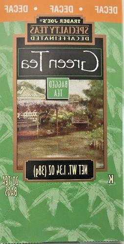 SUPER VALUE 8 PACK***Trader Joe's DECAFFEINATED GREEN TEA*
