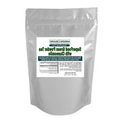 SuperFood Green Powder Tea with Chamomile  - Best Nutrition