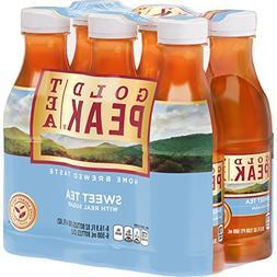 Gold Peak Sweet Tea Iced Tea, 16.9 fl oz, 6 count