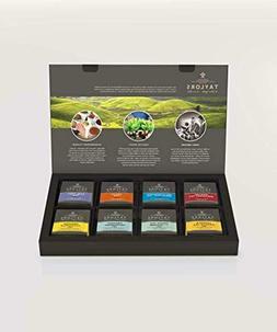 Taylors Classic Black Green Tea Variety Sampler Storage Box