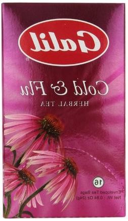 Galil Tea, Cold/Flu, 16-Count Boxes
