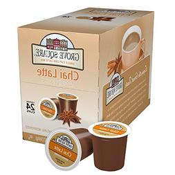 Grove Square Tea, Chai Latte, 24 Single Serve Cups
