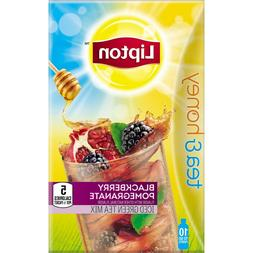 Lipton Tea & Honey To-Go Packets, Blackberry Pomegranate Ice