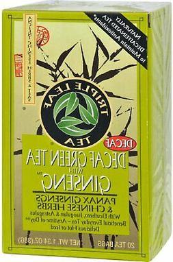 Tea Decaf Green Ginseng