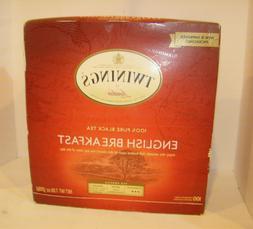 Twinings Tea English Breakfast 100 Count 7.05 oz
