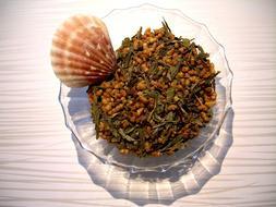 Tea Genmaicha Japanese Blended Loose Leaf Green Tea Pure & N