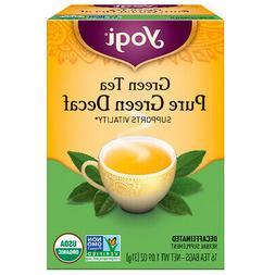 Yogi Tea Green Tea Pure Green Decaf 16 Tea Bags