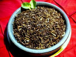 tea green with jasmine flowers loose leaf
