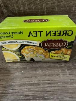 Celestial Seasonings Tea Honey Lemon Ginseng Green Tea 6 box