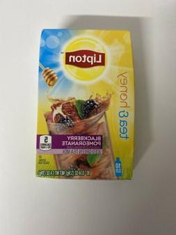 Lipton Tea & Honey To-Go Packets, Blackberry Pomegranate Ice