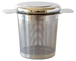 Simple Modern Tea Infuser with Lid - 18/8 Stainless Steel Ex