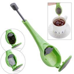 tea infuser loose leaf strainer silicone filter