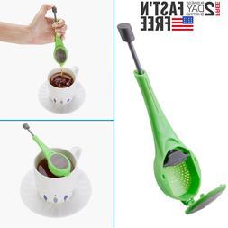 Tea Infuser Loose Leaf Strainer Silicone Herbal Spice Filter