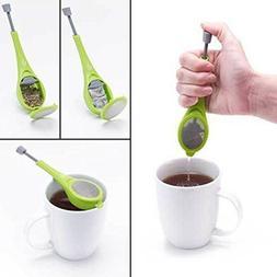 Tea Infuser Loose Tea Leaf Strainer Herbal Spice Silicone Fi