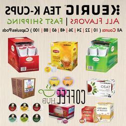 Tea K-Cups Pods 10 / 24 / 36 / 48 / 60 / 88 / 100 Capsule Ke