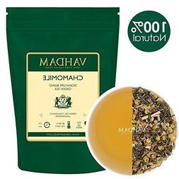 VAHDAM, Chamomile Green Tea Loose Leaf    RICH IN ANTI-OXIDA