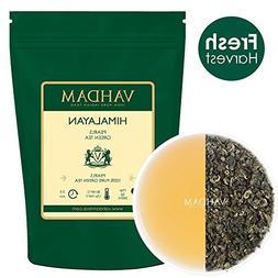 VAHDAM, Himalayan Pearls Green Tea Leaves   3.53 Oz    Pure