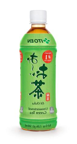 Ito En Tea Oi Ocha Green Tea Unsweetened 16.9 Ounce  Free Sh