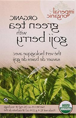 Tea Organic Imp Green Goji Berry