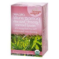 Tea Organic Imp Pomegranate Green Berry