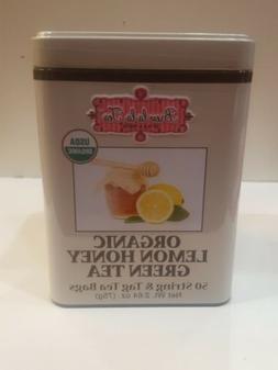 Brew La La Tea Organic Lemon Honey Green Tea 50 String & Tag