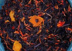 Tea Peach Mango Deep Black Fruit Sonata Flavored Loose Leaf