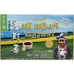 tea premium pu erh tea 100 teabags