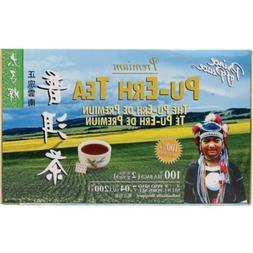 3 X Prince Of Peace Tea Premium Pu-erh Tea, 100 teabags
