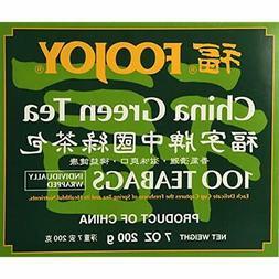 Tea Samplers 1 X Foojoy Brand China Green Tea, 2g 100 Teabag
