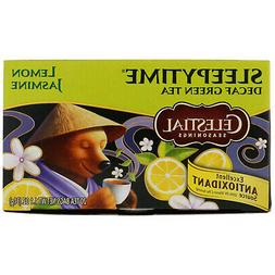 Celestial Tea Sleepytime Decaf Lemon Jasmine Green Tea, 20-C