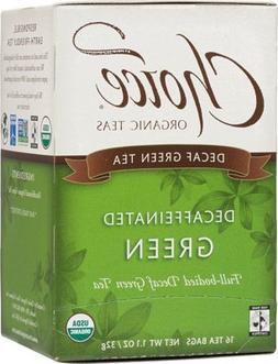 Choice Organic Teas Decaffeinated Green Tea - 16 Bags