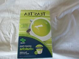 Teas'Tea Green tea + Matcha Single Serve Pods 12 cups packag