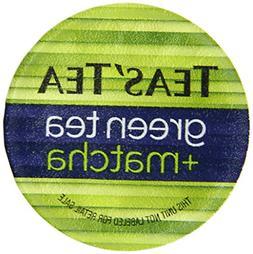 Teas' Tea Green Tea Plus Matcha Single Serve Cups Pack of 12