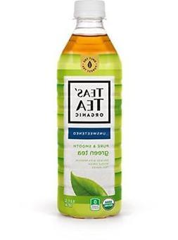 Teas' Tea Unsweetened Pure Green Tea, 16.9 Ounce , Organic,