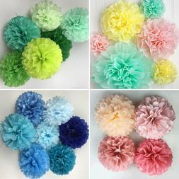 Tissue Pom Poms Paper Flower Home Wedding Birthday Tea Party